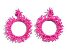 Boldly Beaded Statement Earrings