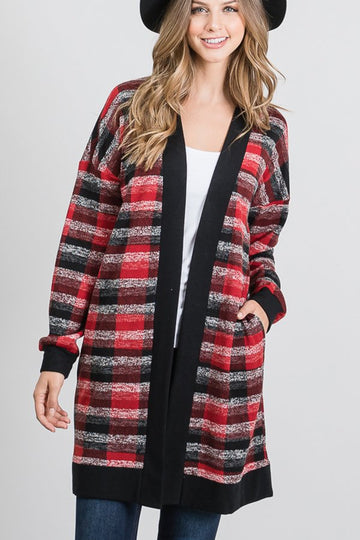 SETTLE INTO CHIC CARDIGAN
