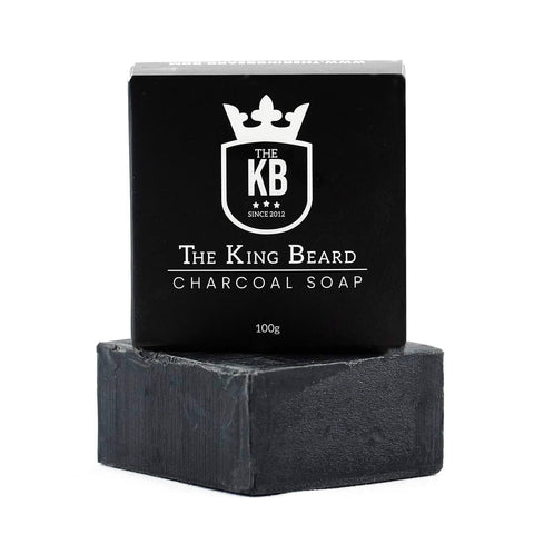 The King Beard</br> Charcoal Soap