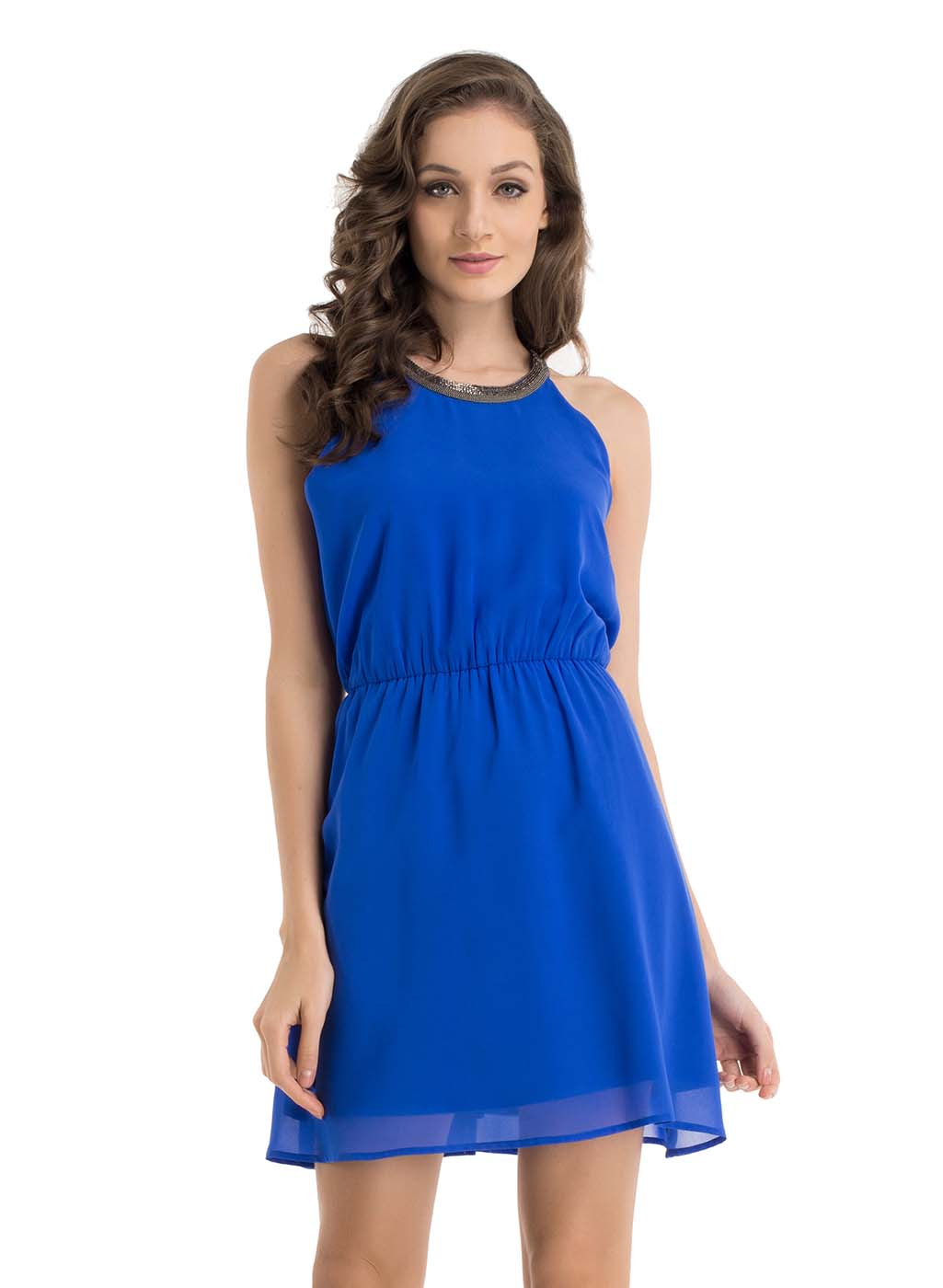 Bella Halter Neck Dress