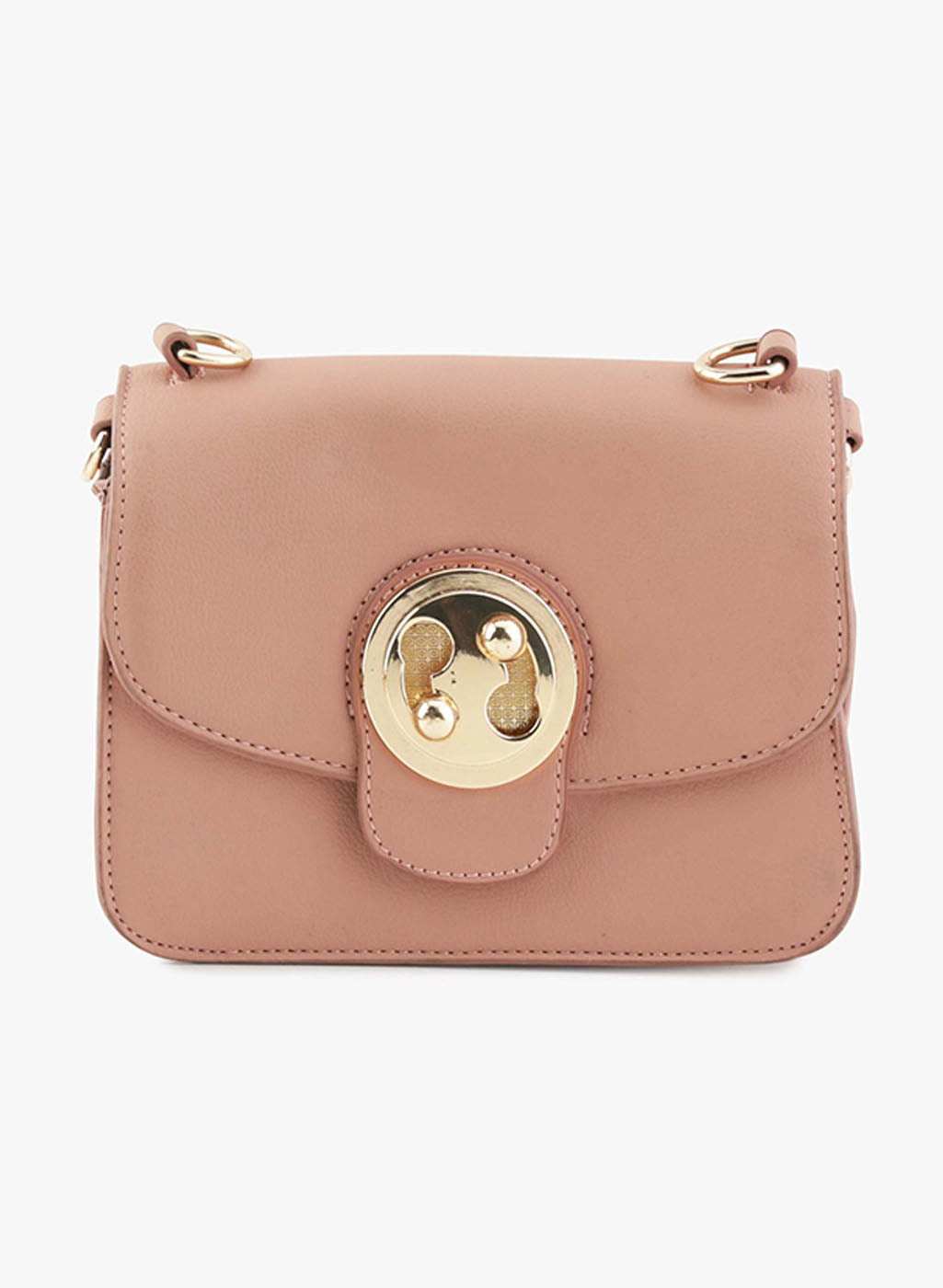Rene Mellow Rose Faux Leather Sling Bag