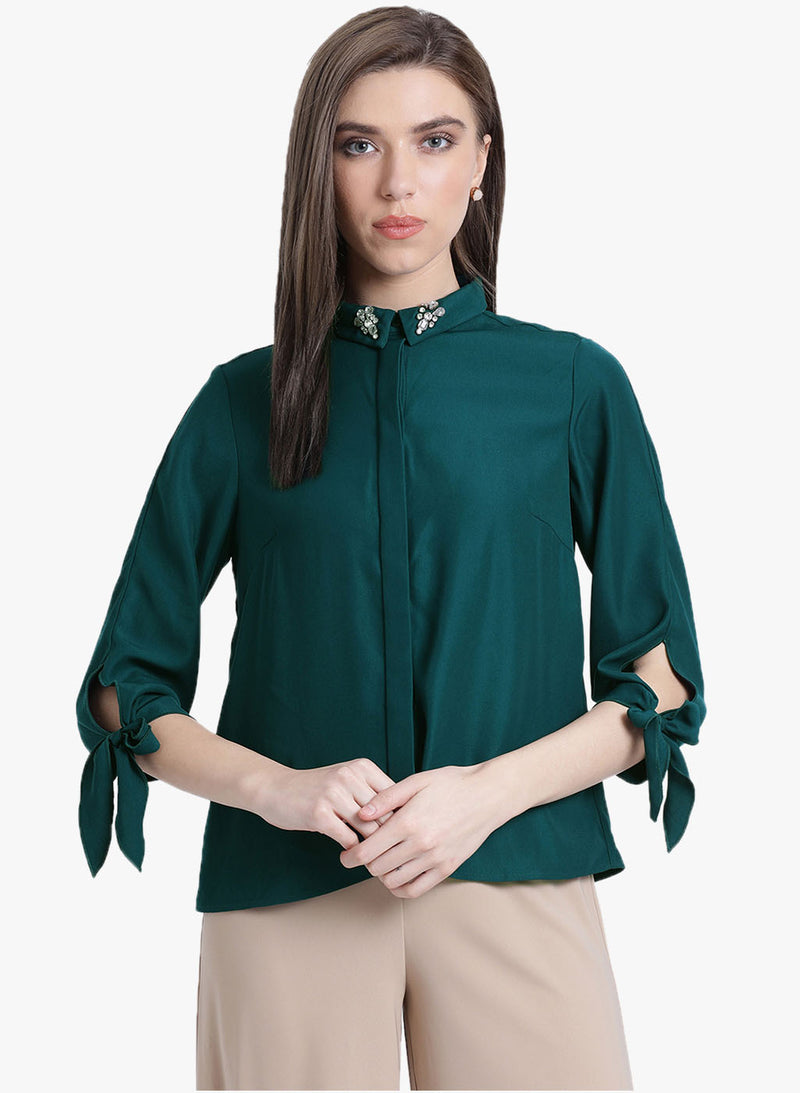 Simple Decadence Solid Shirt