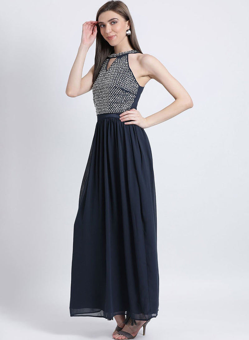 Trixie Embellished Maxi Dress