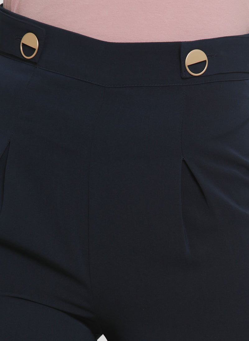 Alison Gold Button Culottes