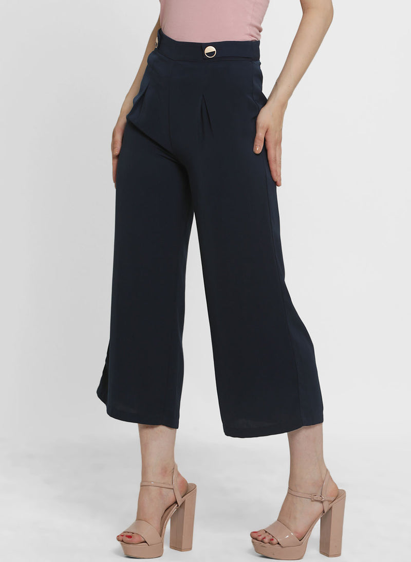 Alison Gold Button Culottes (Buy 2 or more Get 20% Off)