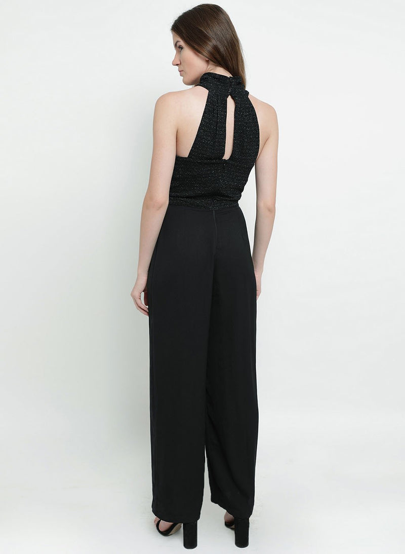 Clairecriss Cross Halter Neck Jumpsuit (Additional 20% OFF)