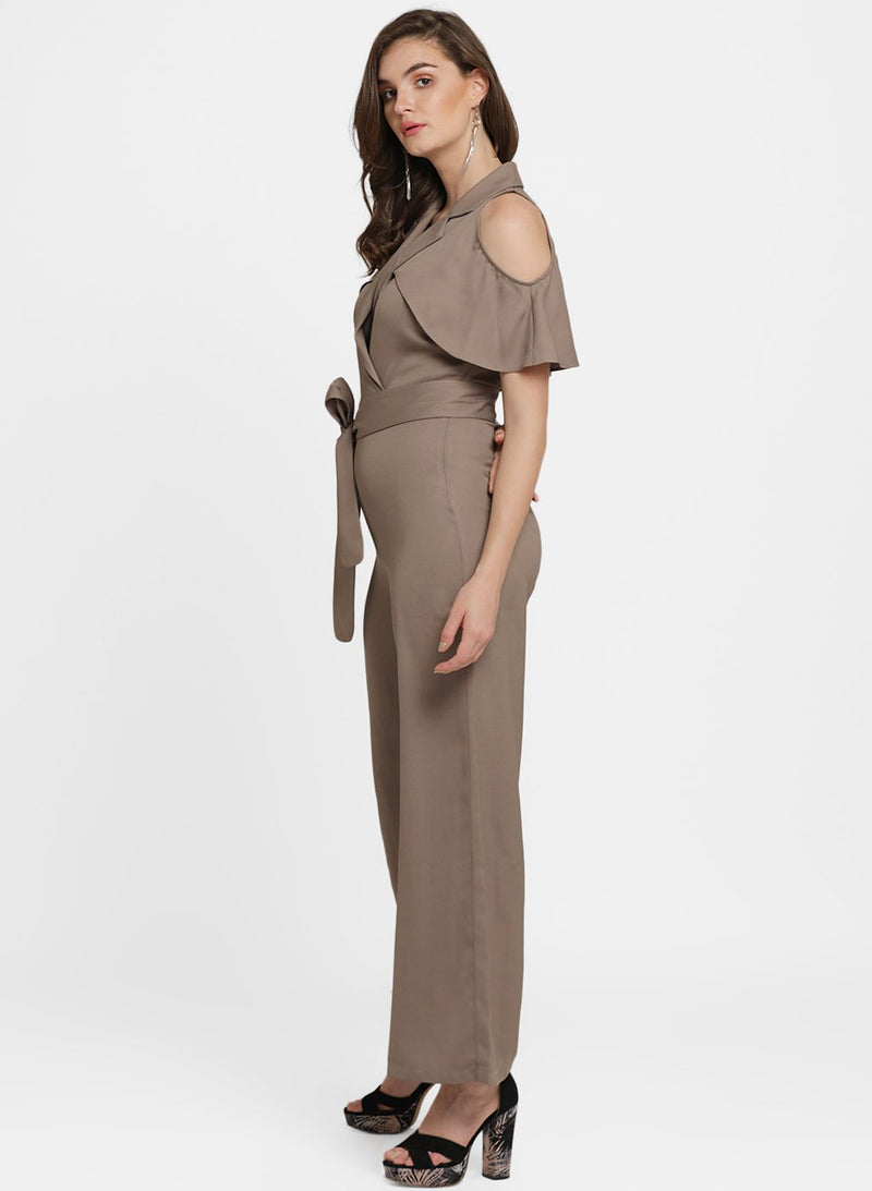 Adriana V Neck Overlay Jumpsuit (Buy 2 Get Extra 30% Off)