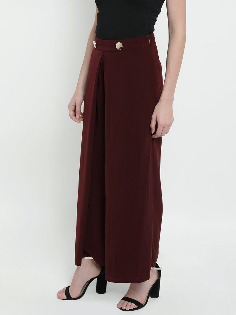 Whimsical Wind Elasticated Waist Palazzo