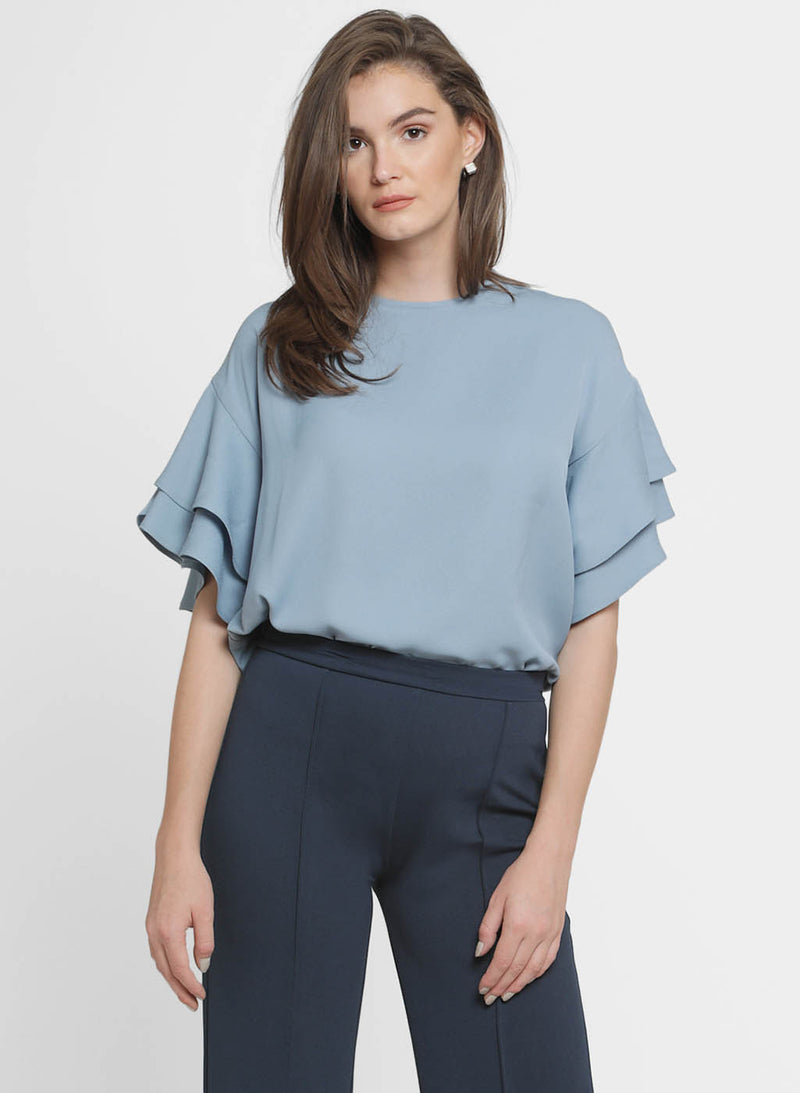 Cheryl Tier Sleeve Top