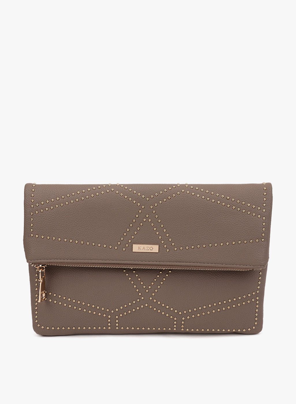 Claire Studded Grey Color Sling Bag