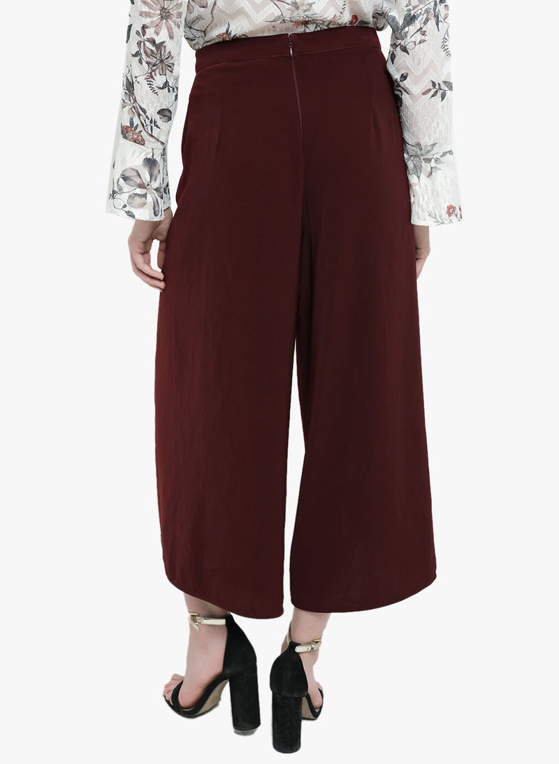 Giselle High Waisted Over Lay Culottes