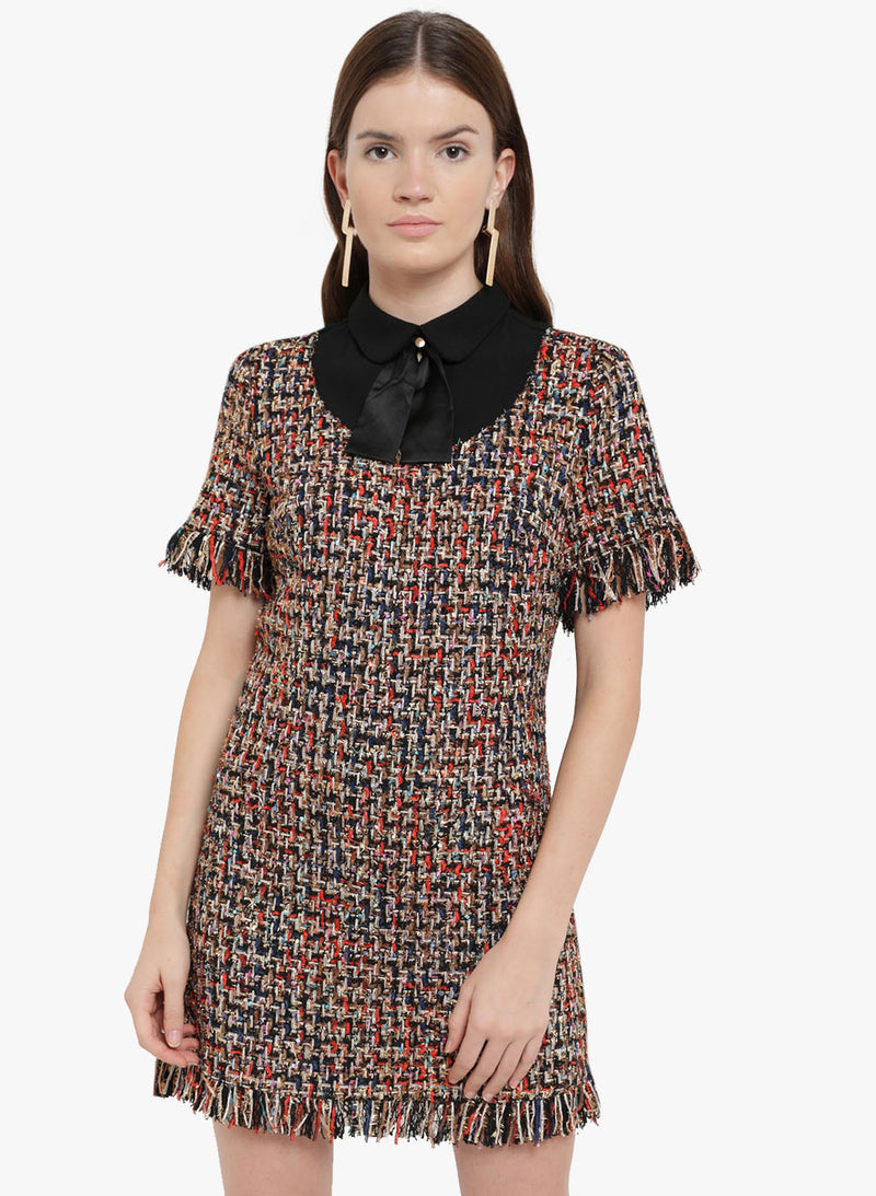 Daphne Tweed Mini Dress (Additional 20% OFF)