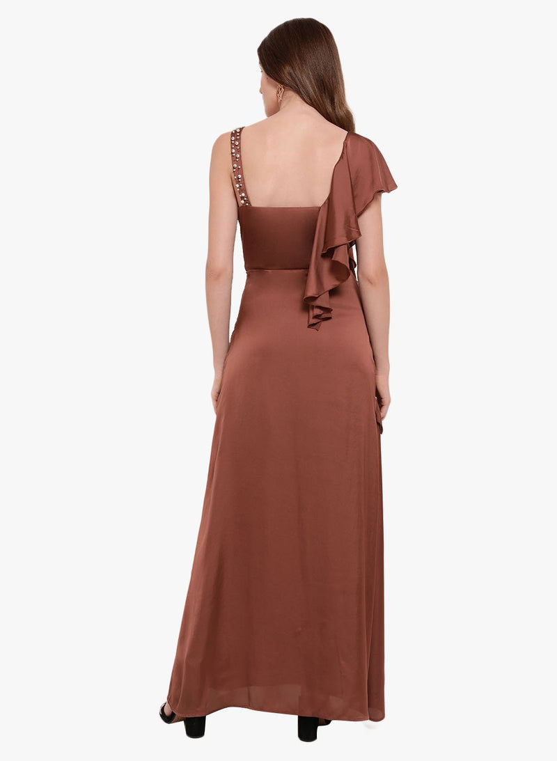 Maria Embellished Maxi Dress(Additional 20% on 2)