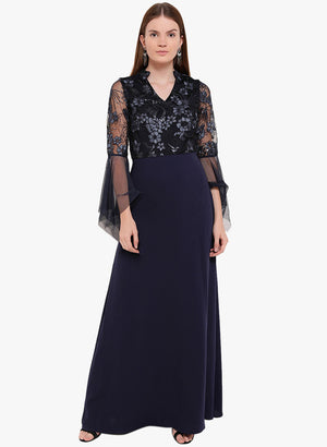 Sarah A -Line Maxi Dress (Additional 20% OFF)