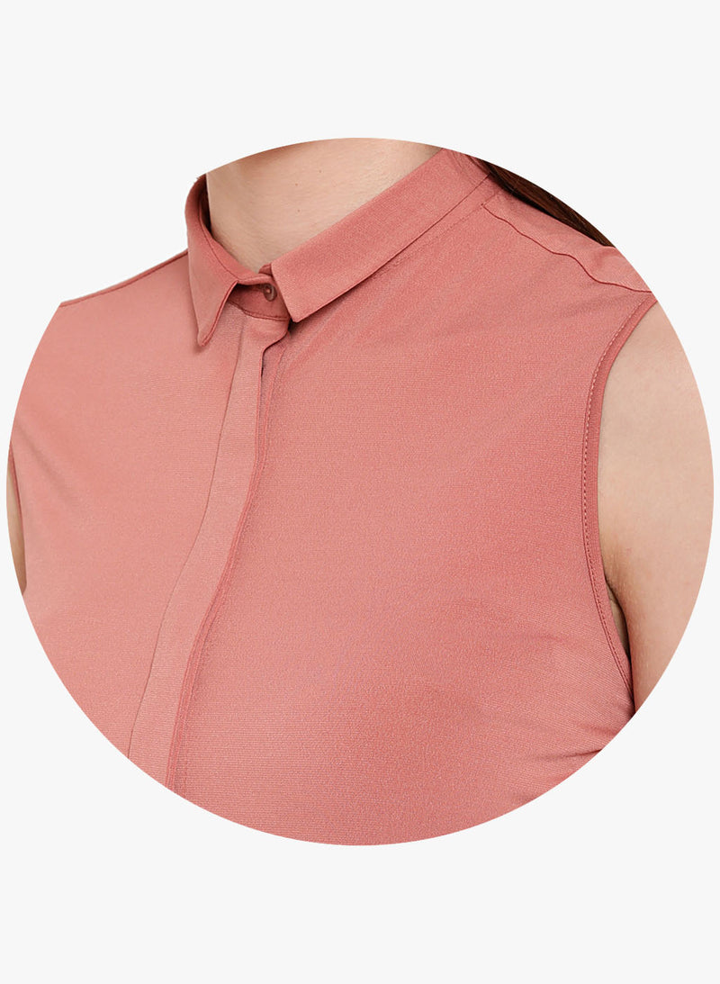 Cloth & Clay Cold Shoulder Shirt (Buy 2 Get Extra 30% Off)