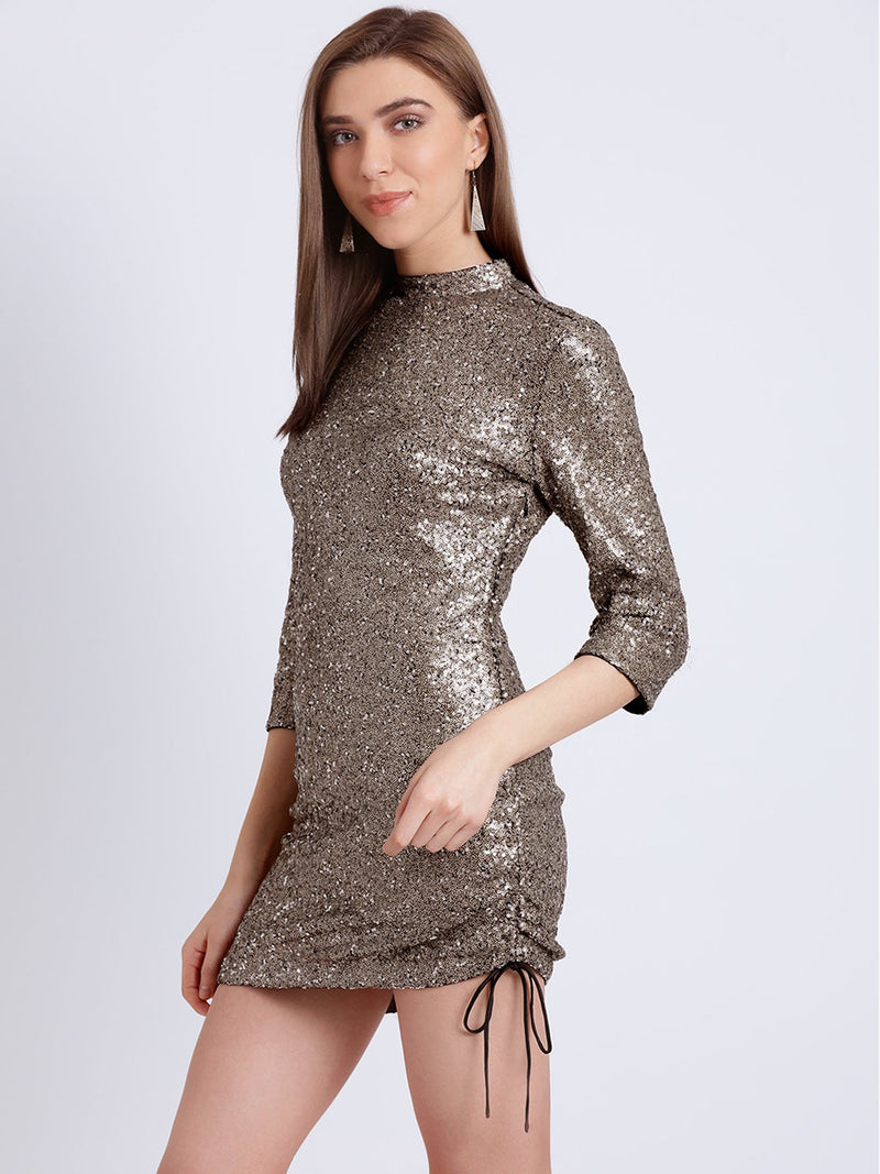 Isabella Sheeted Sequin Mini Dress (Buy 2 Get Extra 30% Off)
