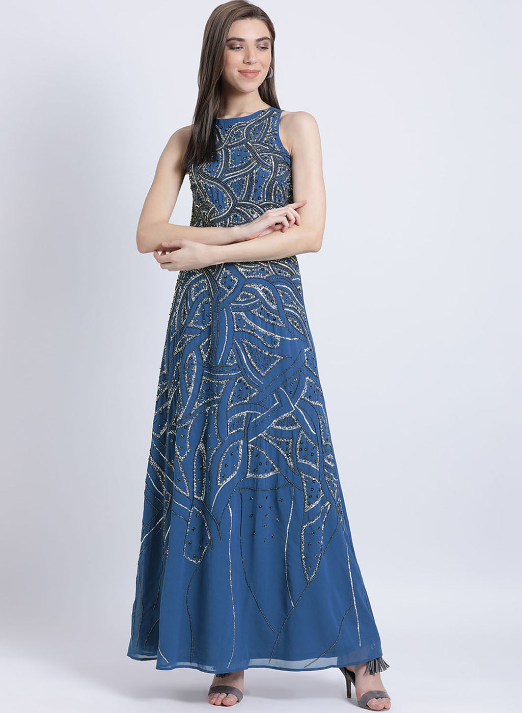 Daniel Embellishment Maxi Dress