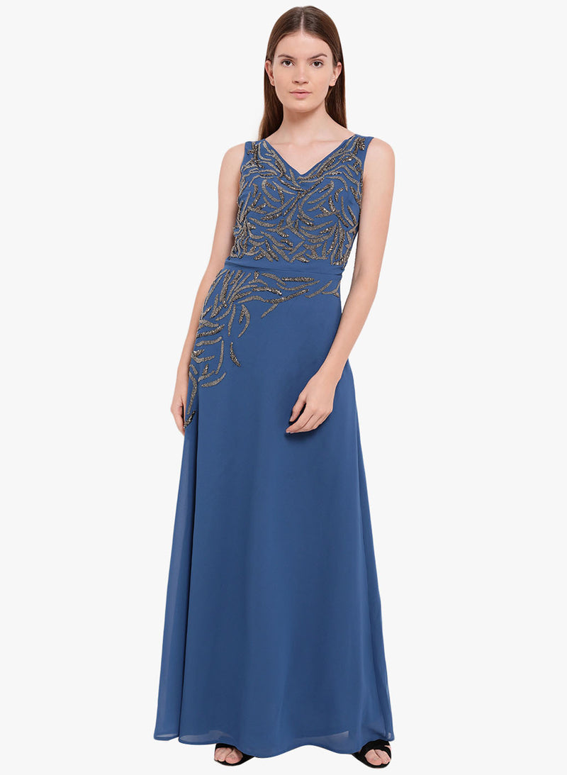 Victoria Embellished Maxi Dress
