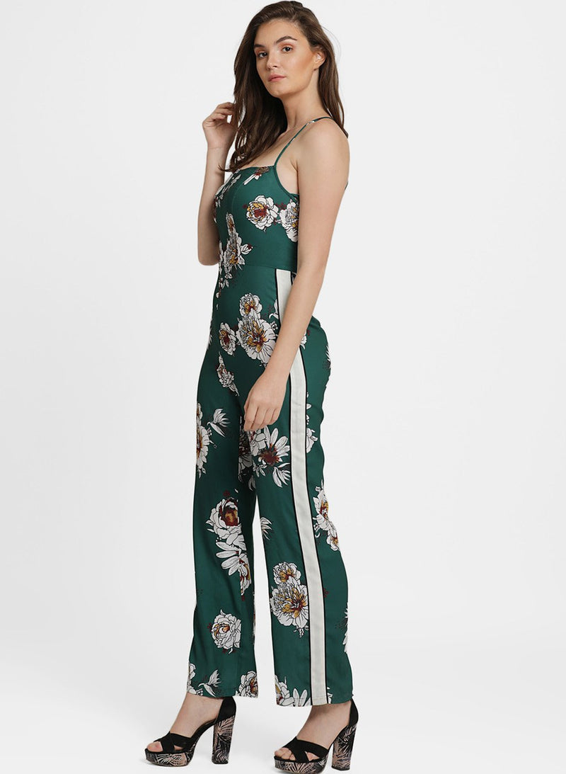 Cheryl Printed Criss Cross Back Jumpsuit (Additional 20% OFF)