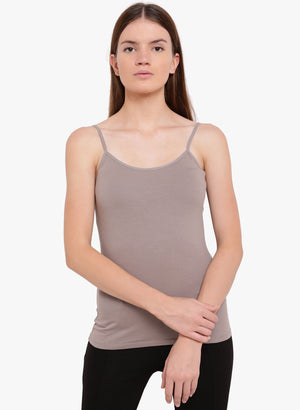 Beige Color Kazo Singlet