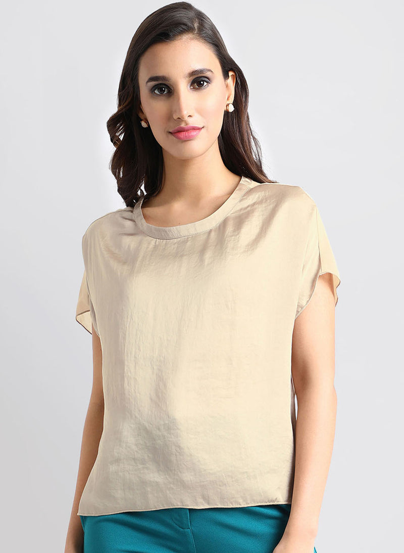 Sheer Back Top (Additional 20% OFF)