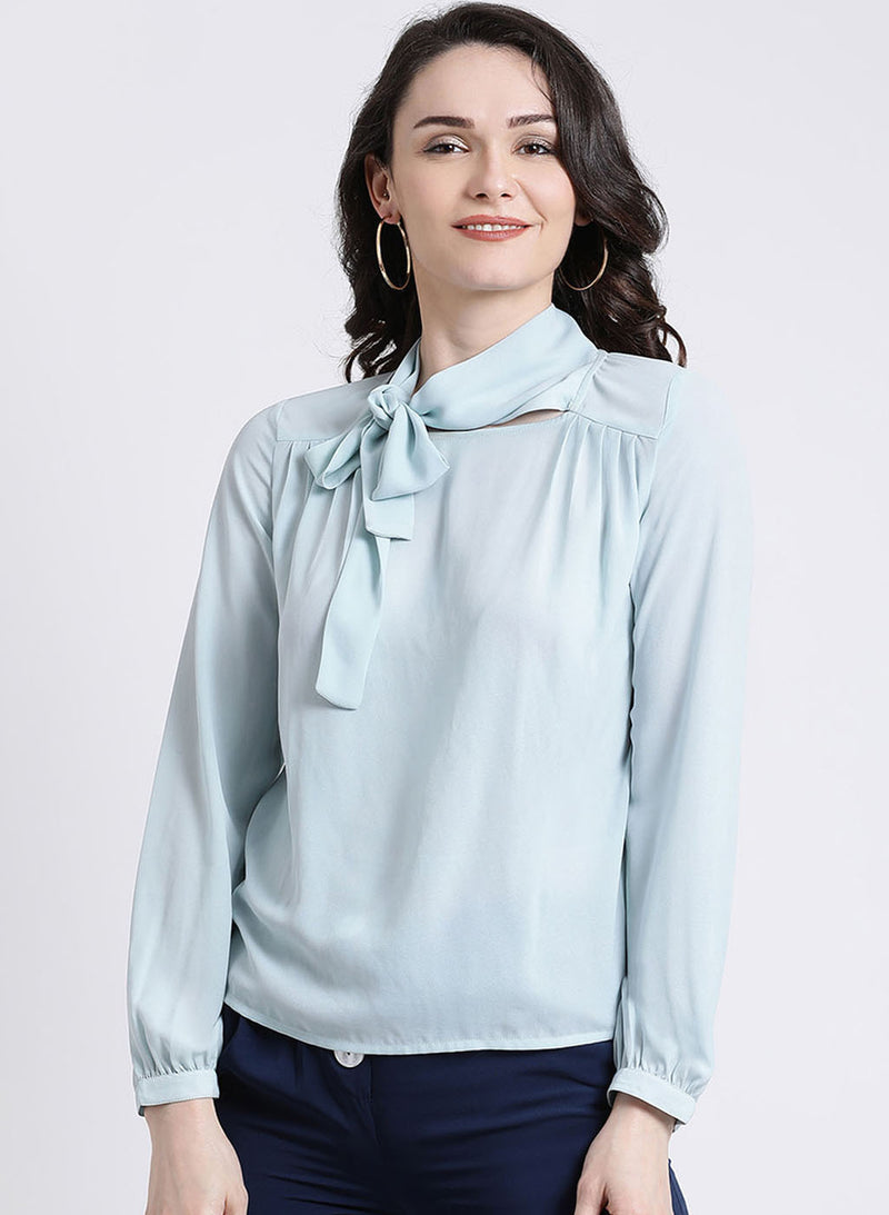 Tie Up Neck Top (Additional 20% OFF)