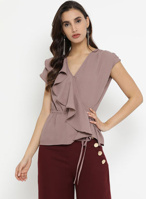 Overlap Ruffle Top(Additional 20% on 2)