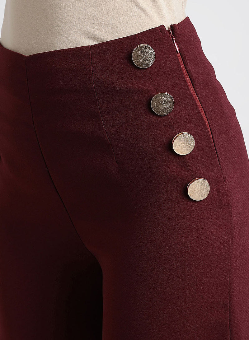 Palazzo With Button Detail