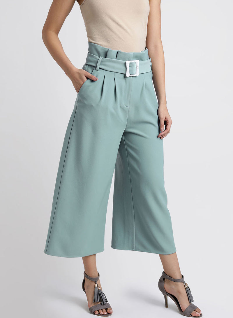 Paper Bag Wasit Culottes (Additional 20% OFF)