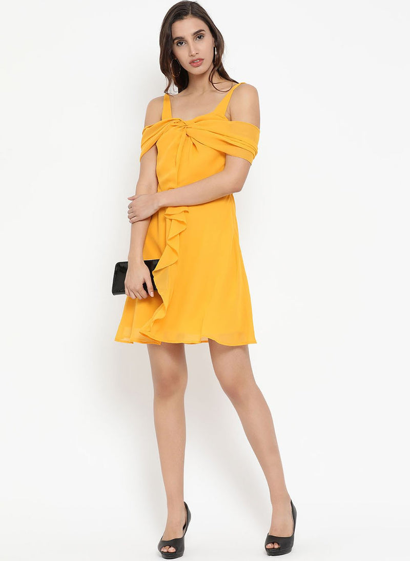 Ruffle Mini Dress (Additional 20% OFF)