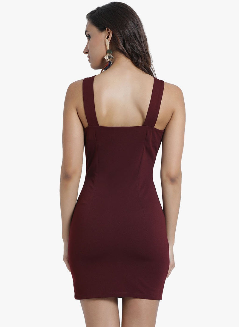 Mini Dress With Shoulder Straps