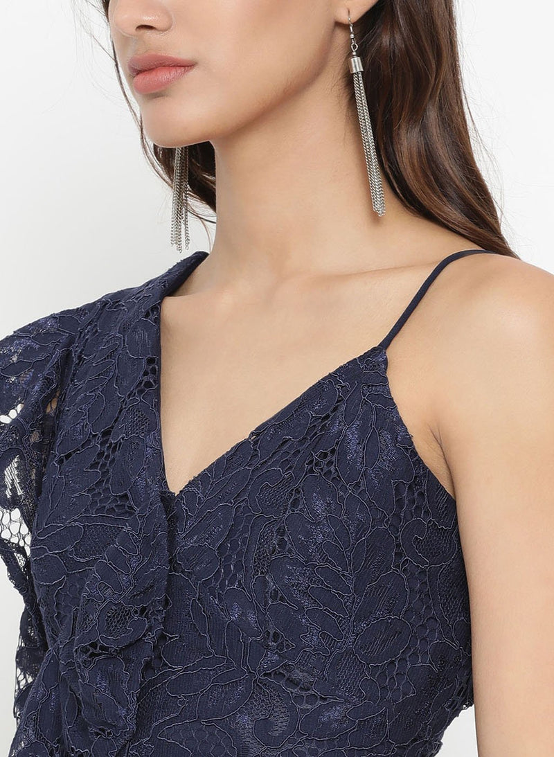 Lace Spagetti Strap Jumpsuit (Additional 20% OFF)