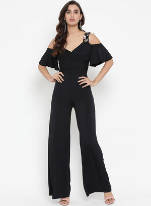 Jumpsuit With Embellished Strap(Additional 20% on 2)