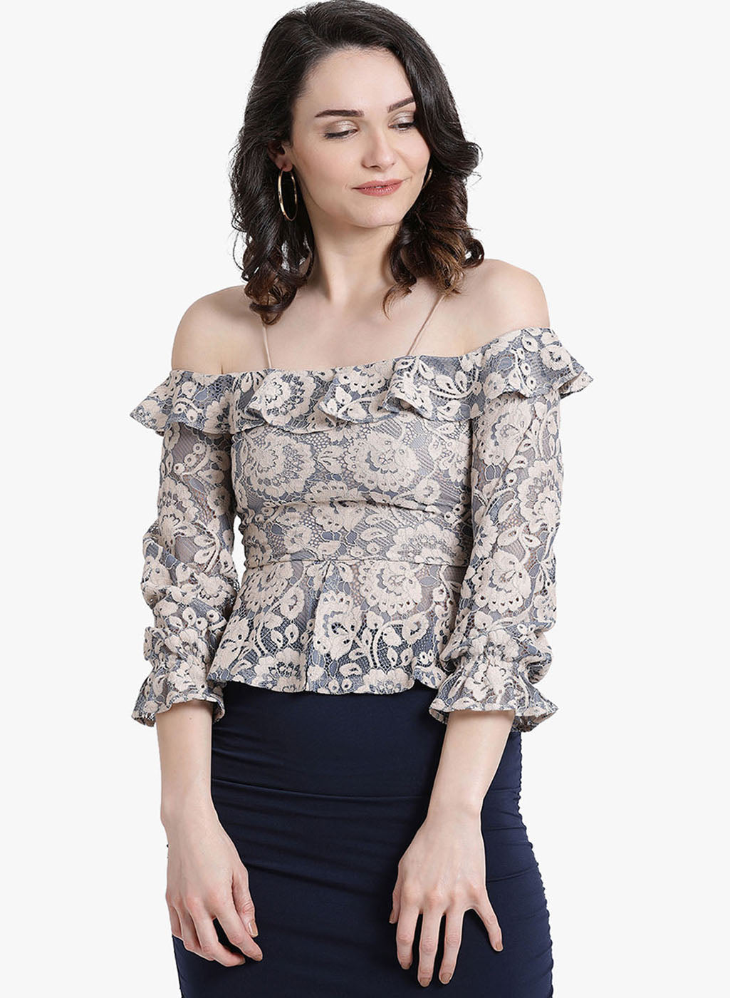 Lace Spaghetti Top (Additional 23% OFF)