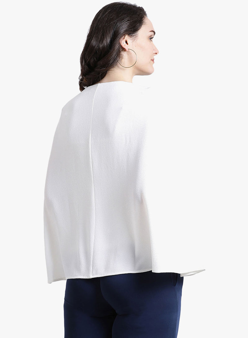 Cape With Buckle Detail (Additional 20% OFF)