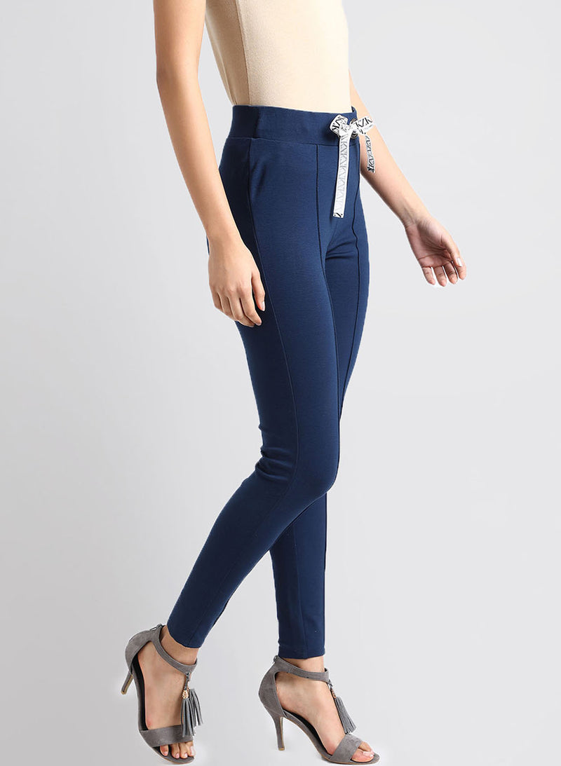 Jeggings With Tie Up (Additional 20% OFF)