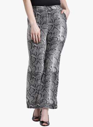 Snake Print Trouser (Additional 20% OFF)