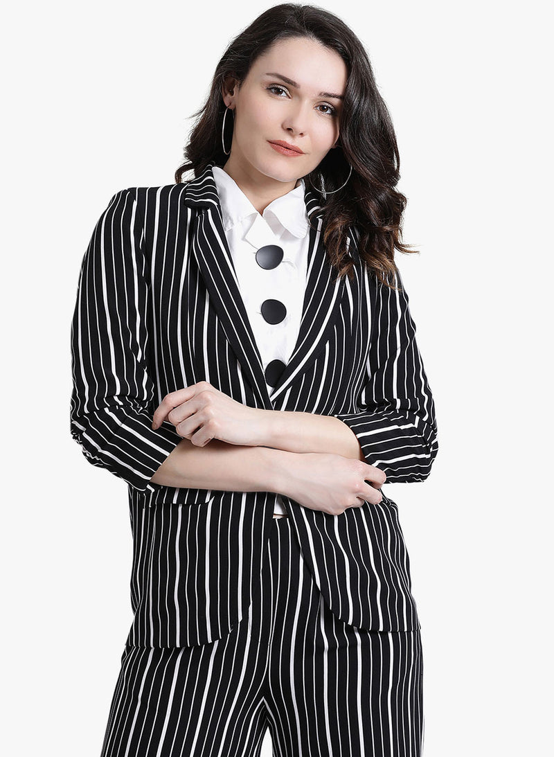 Striped Jacket (Additional 20% OFF)