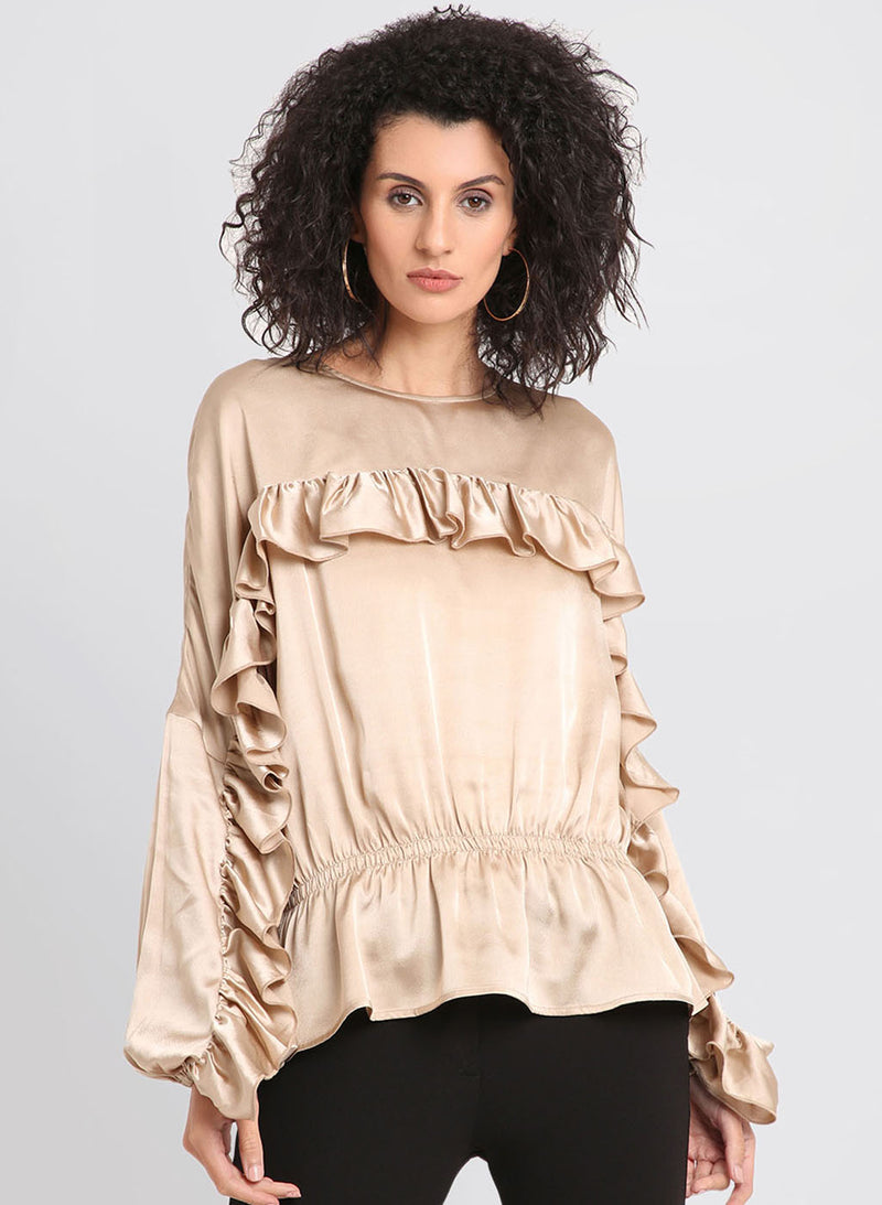 Ruffles Full Sleeves Top