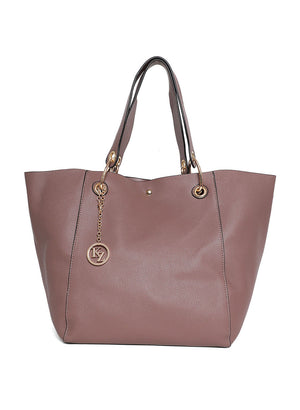 Grey Color Tote Bag