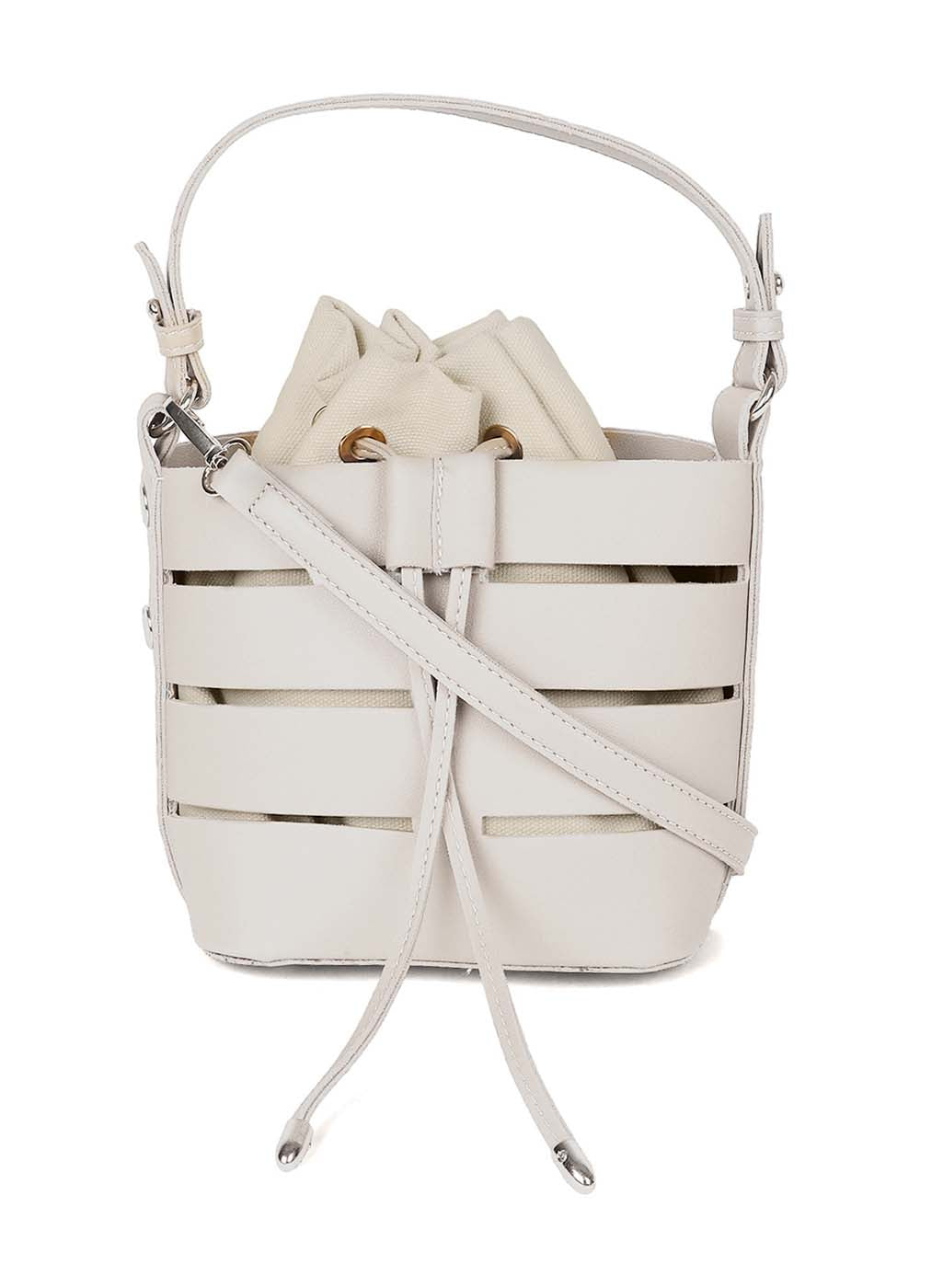 Off White Color Bucket Bag