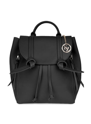 Basic Black Color Backpack