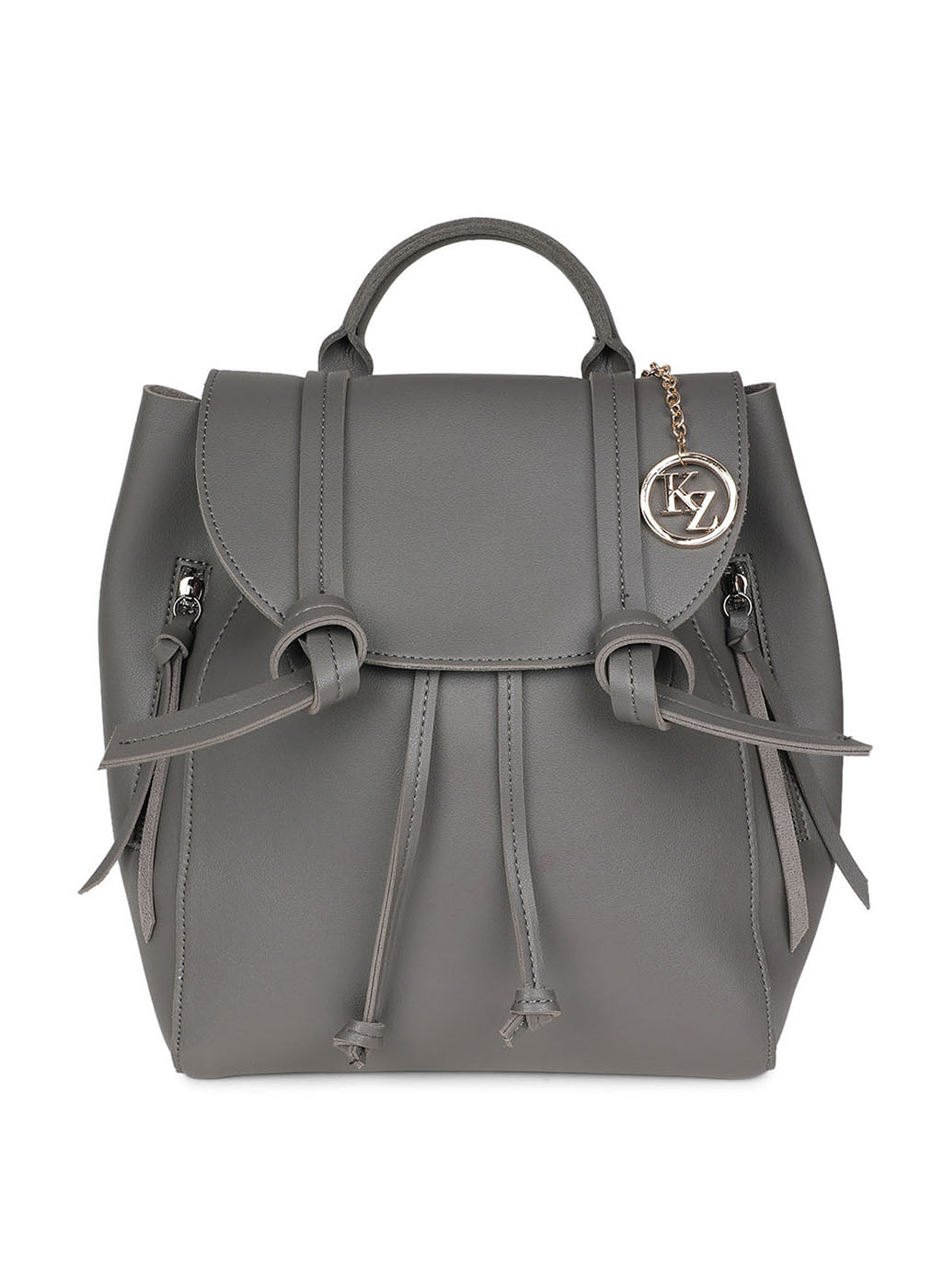 Basic Grey Color Backpack