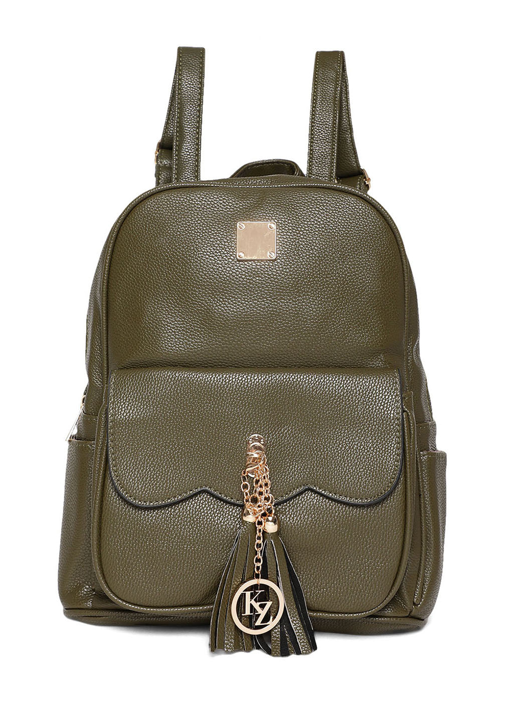 Olive Color Backpack