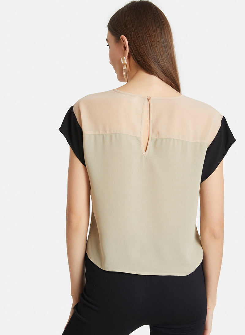 Colour Block Top (Additional 20% OFF)