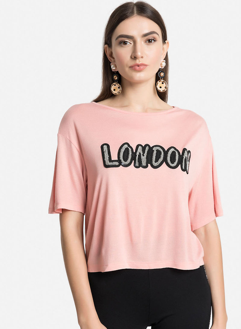 T Shirt With London Patch(Additional 20% on 2)