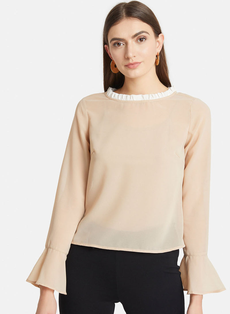 Top With Flared Sleeves (Additional 20% OFF)