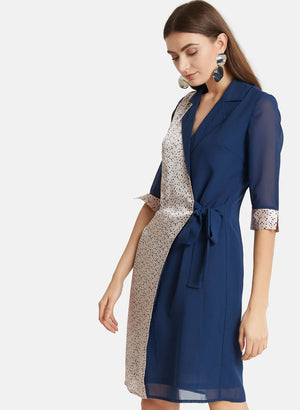 Shirt Dress With Polka Print (Additional 20% OFF)