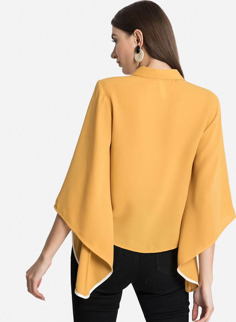 Flared Sleeves Shirt (Additional 20% OFF)