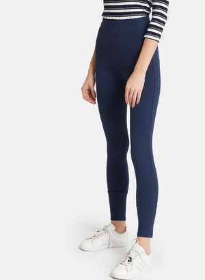 Basic Jeggings With Zip Detail On The Ankel